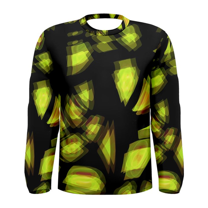 Yellow light Men s Long Sleeve Tee