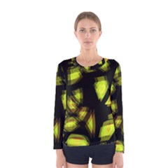 Yellow light Women s Long Sleeve Tee