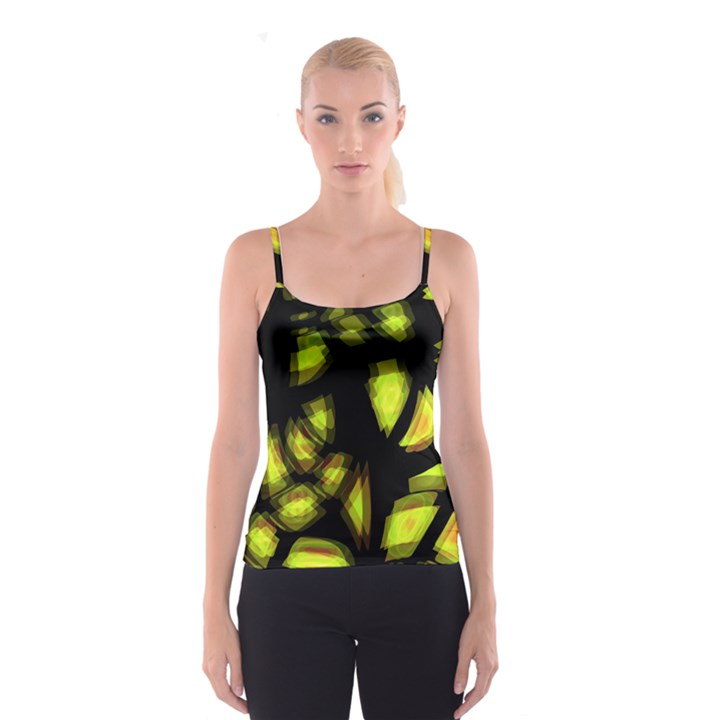 Yellow light Spaghetti Strap Top