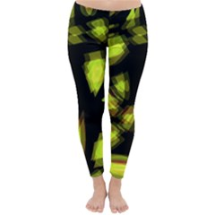 Yellow light Winter Leggings