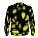 Yellow light Men s Sweatshirt View2