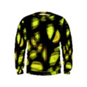 Yellow light Kids  Sweatshirt View1