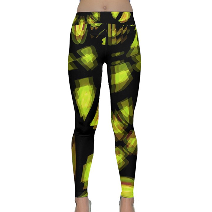 Yellow light Yoga Leggings