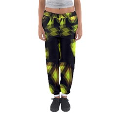 Yellow light Women s Jogger Sweatpants
