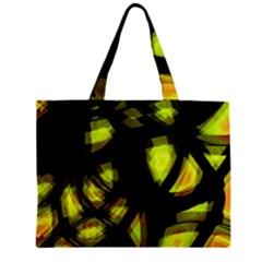 Yellow light Zipper Mini Tote Bag
