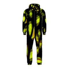 Yellow light Hooded Jumpsuit (Kids)