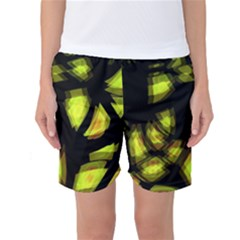 Yellow light Women s Basketball Shorts