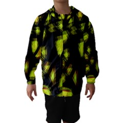 Yellow Light Hooded Wind Breaker (kids)