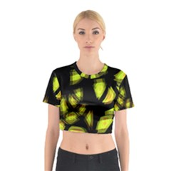 Yellow light Cotton Crop Top