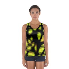 Yellow light Women s Sport Tank Top