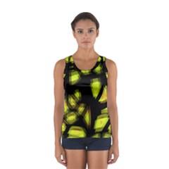 Yellow Light Women s Sport Tank Top