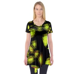 Yellow light Short Sleeve Tunic