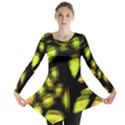 Yellow light Long Sleeve Tunic  View1