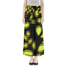 Yellow light Maxi Skirts