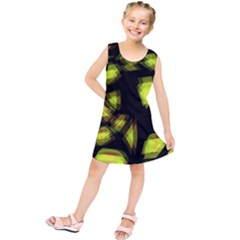 Yellow light Kids  Tunic Dress