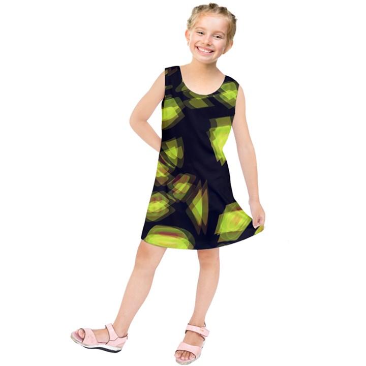 Yellow light Kids  Tunic Dress