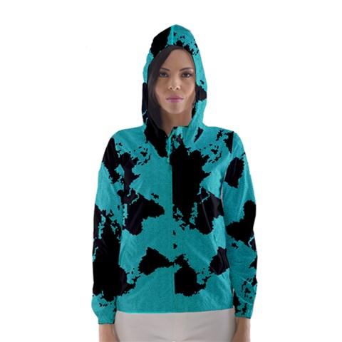 Global Citizen. Hooded Wind Breaker (Women)