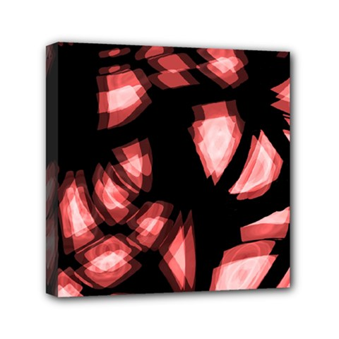 Red Light Mini Canvas 6  X 6