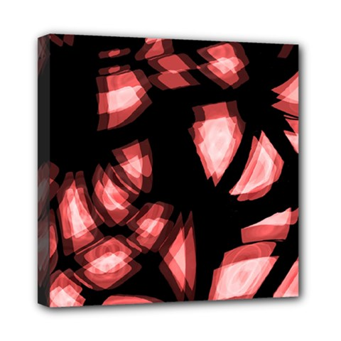 Red light Mini Canvas 8  x 8