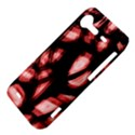 Red light HTC Incredible S Hardshell Case  View4