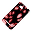 Red light HTC One SU T528W Hardshell Case View4
