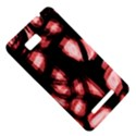 Red light HTC One SU T528W Hardshell Case View5