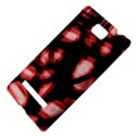 Red light HTC 8S Hardshell Case View4