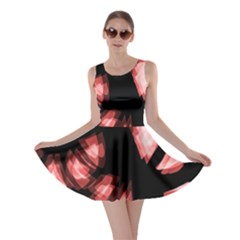 Red light Skater Dress