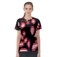 Red Light Women s Sport Mesh Tee