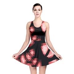 Red Light Reversible Skater Dress