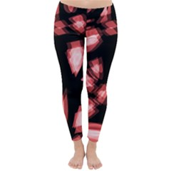 Red light Winter Leggings
