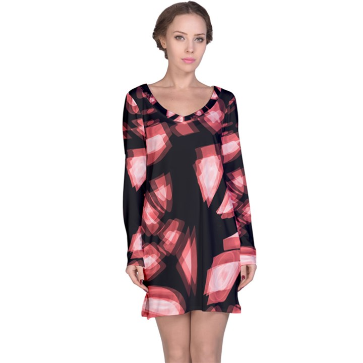 Red light Long Sleeve Nightdress