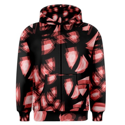 Red light Men s Zipper Hoodie