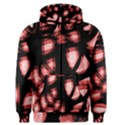 Red light Men s Zipper Hoodie View1