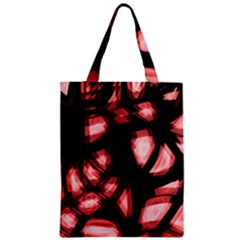 Red light Zipper Classic Tote Bag