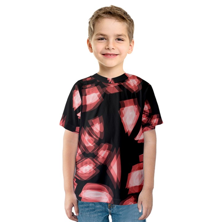 Red light Kids  Sport Mesh Tee