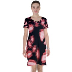 Red Light Short Sleeve Nightdress