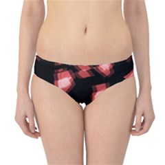 Red light Hipster Bikini Bottoms