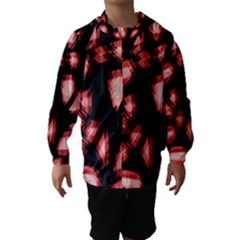 Red light Hooded Wind Breaker (Kids)
