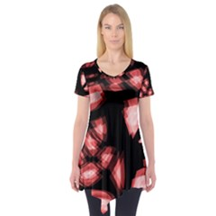 Red light Short Sleeve Tunic