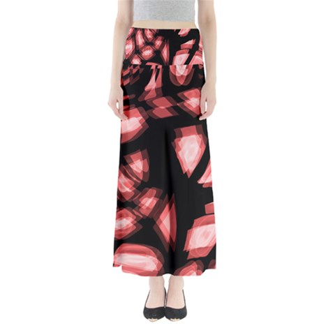 Red light Maxi Skirts