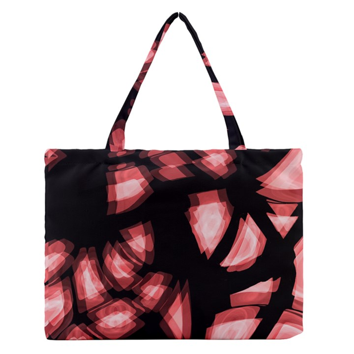 Red light Medium Zipper Tote Bag