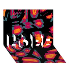 Hot, hot, hot HOPE 3D Greeting Card (7x5)