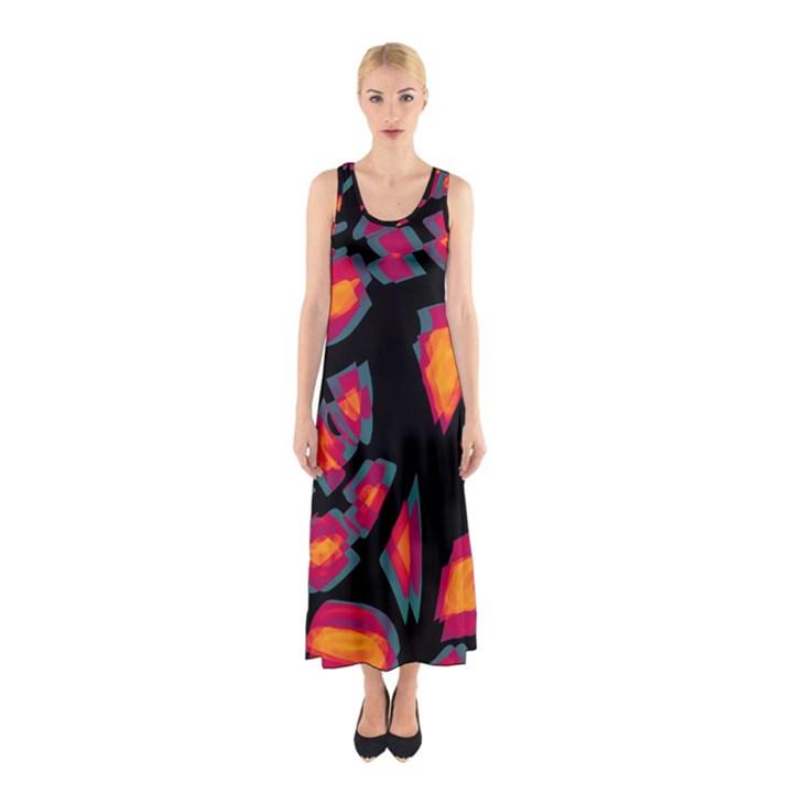 Hot, hot, hot Sleeveless Maxi Dress