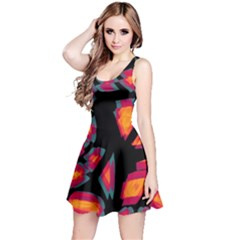 Hot, hot, hot Reversible Sleeveless Dress