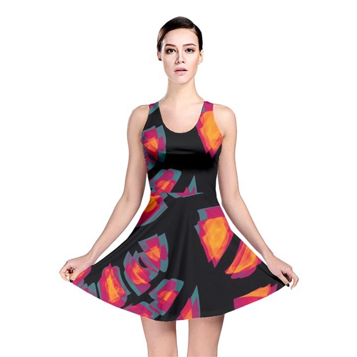 Hot, hot, hot Reversible Skater Dress