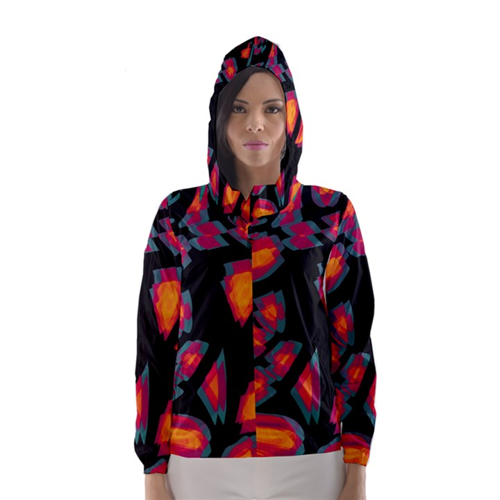 Hot, hot, hot Hooded Wind Breaker (Women)