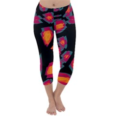 Hot, hot, hot Capri Winter Leggings