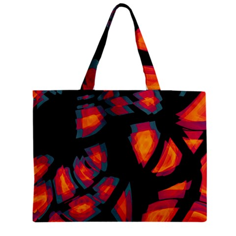 Hot, hot, hot Zipper Mini Tote Bag