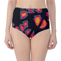 Hot, hot, hot High-Waist Bikini Bottoms
